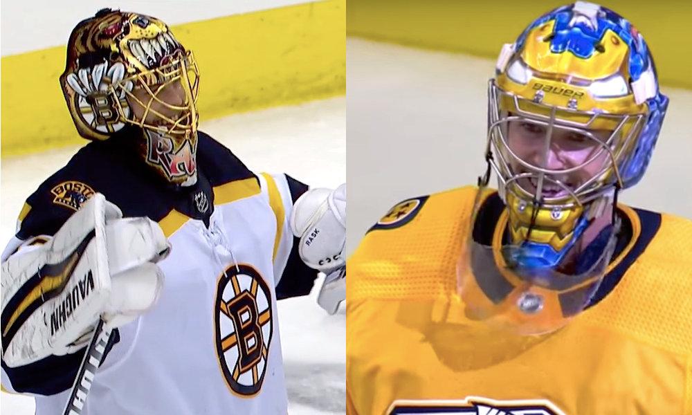 NHL Network: Tuukka Rask ja Pekka Rinne NHL Top 10 -maalivahtien listalla!