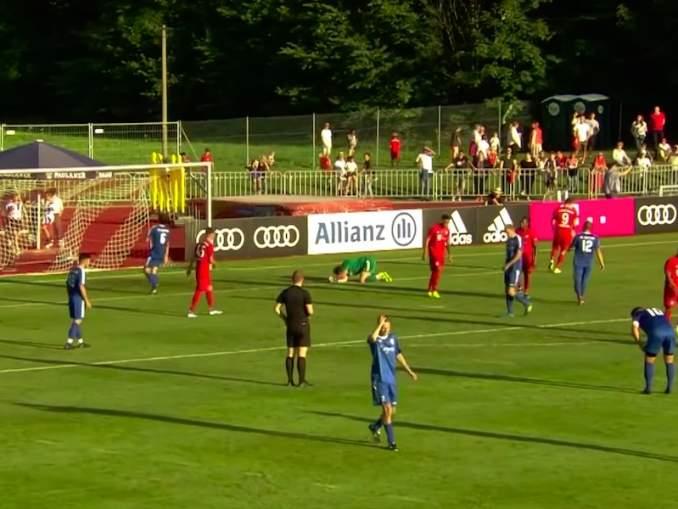 Bayern München murjoi vastustajansa 23-0 ystävyysottelussa.