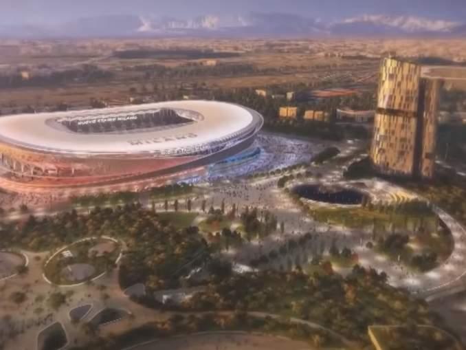 AC Milanin ja Inter Milanin uuden stadionin konseptikuvat julki.