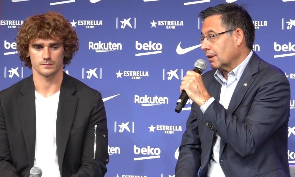Barcelonalle 300 euron sakot liittyen Antoine Griezmannin kesän siirtoon.