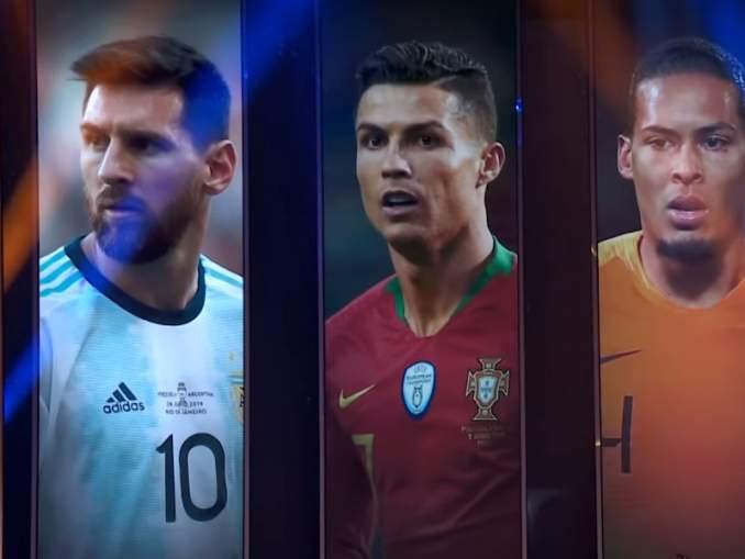 FIFA:n vuoden paras miespelaaja -äänestystulokset.