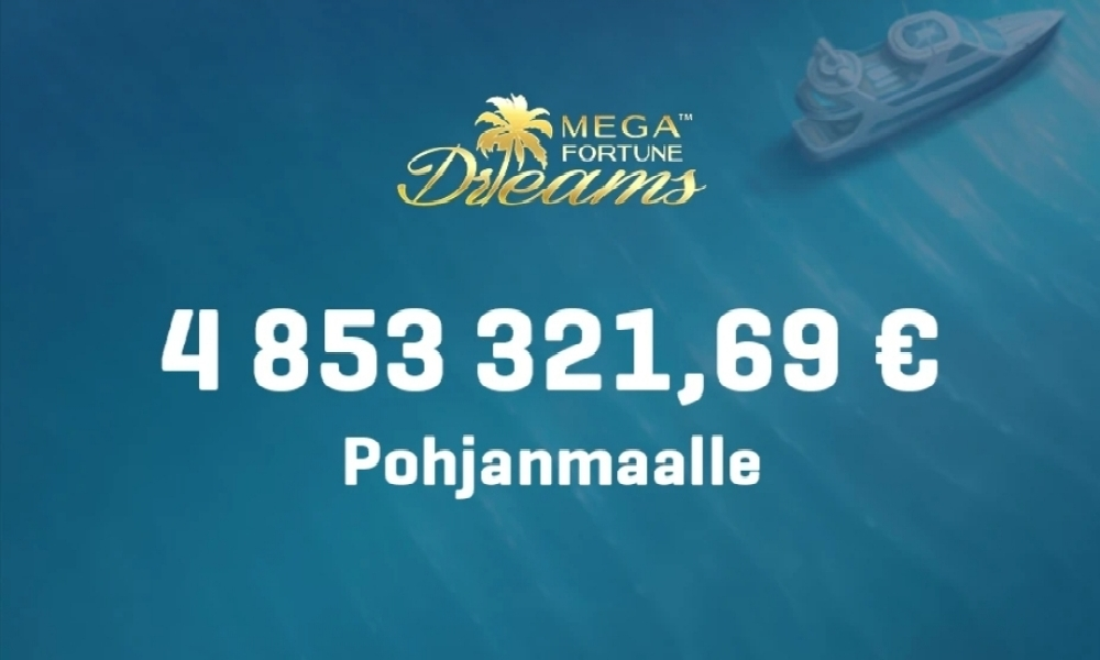 Pohjanmaalaismies voitti lähes 5 miljoonan jackpotin NordicBetillä.