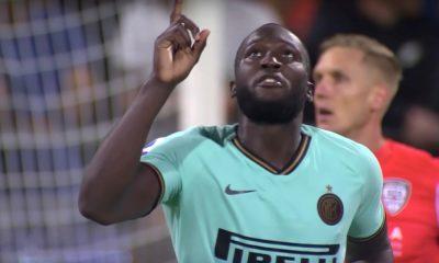 Oksettavaa! Interin Romelu Lukaku rasismin kohteena Cagliaria vastaan pelatussa vierasottelussa.