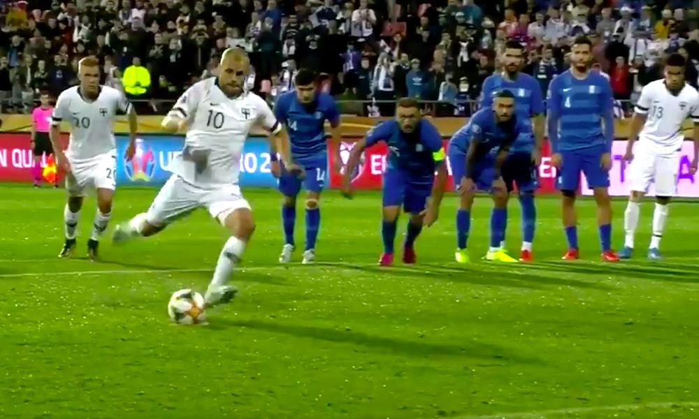 Huuhkajat kaatoi Kreikan 1-0 ja tukevoitti otettaan EM-kisapaikkaan!