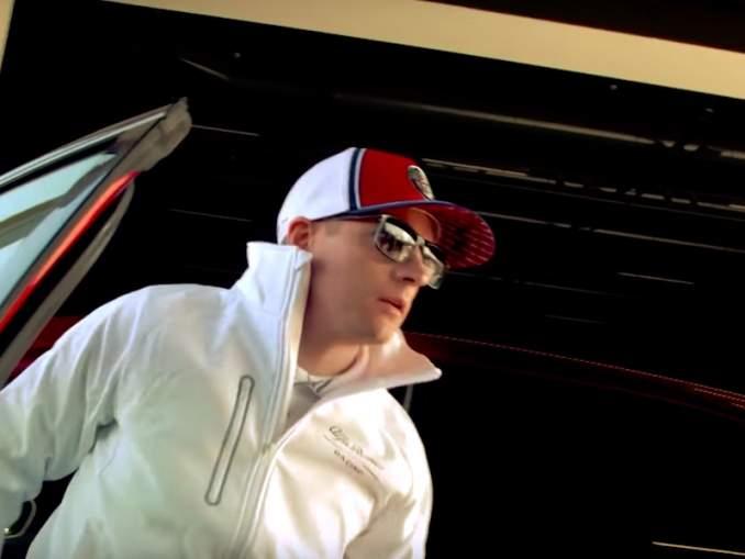 Räikkönen karkasi Sky Sportsin haastattelusta.