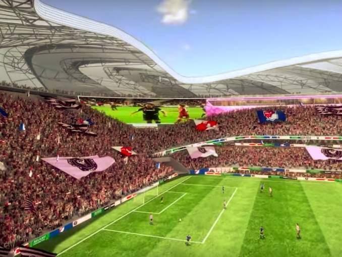 David Beckhamin Inter Miamin stadion tulee näyttämään seuran julkaiseman videon perusteella suorastaan mielipuoliselta.