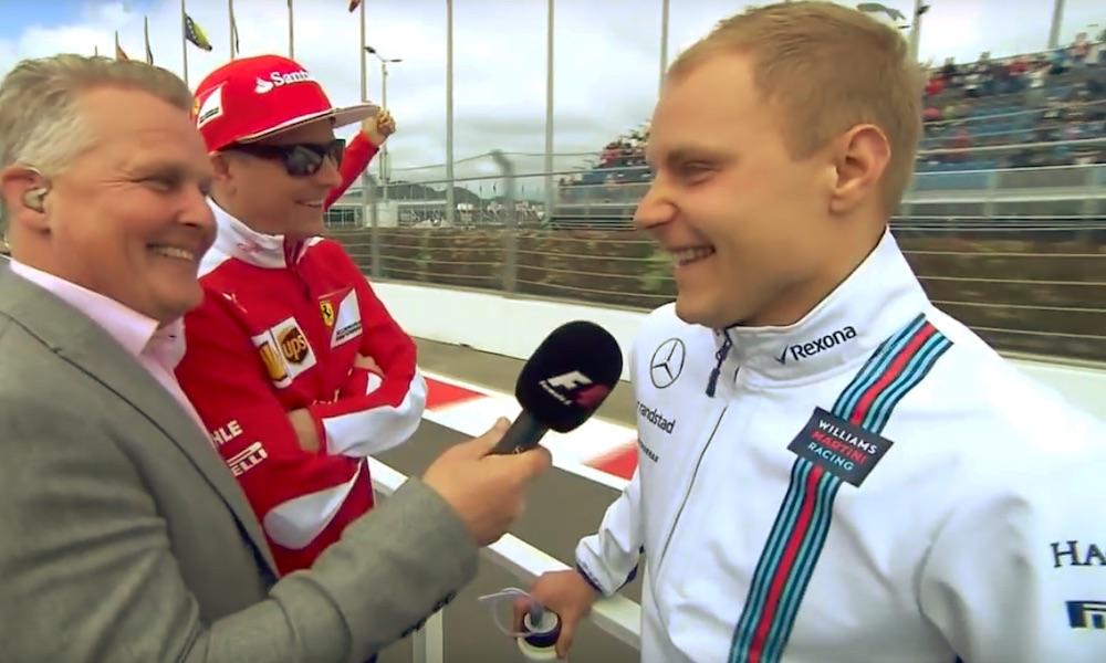 Kimi ja Valtteri tarjoilivat vuonna 2016 ehkä kaikkien aikojen suomalaisimman keskustelutuokion.