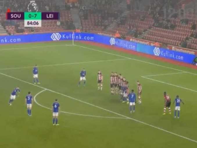 Leicester murjoi Southamptonin