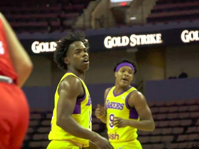 Kauhajoen Karhubasketissa Korisliigaa vielä kaudella 2017-18 pelanneelle Marcus Allenille NBA-sopimus Los Angeles Lakersiin.