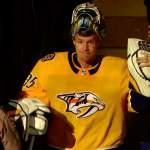 Nashville Predatorsin Pekka Rinteelle toinen perättäinen nollapeli: hän on nyt pitänyt maalinsa puhtaana 136 minuuttia ja yhden sekunnin.