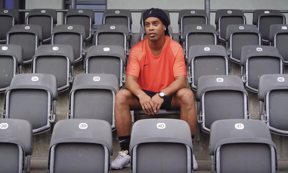 Muistatko Ronaldinhon ylärimahaasteen? Video räjäytti internetin.