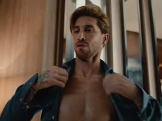 Ohhoh! Sergio Ramos näyttäytyi olutmainoksessa ilman tatuointeja.