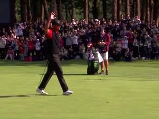 Tiger Woods teki huikeaa historiaa: hän nousi Sam Sneadin rinnalle kaikkien aikojen eniten PGA-kiertueen kisoja voittaneeksi golffariksi.