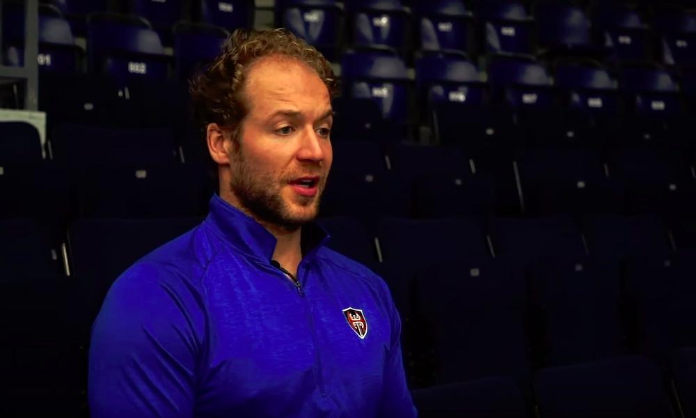 Zug-pelaaja potkaisi tahallaan Ben Bloodia luistimella naamaan, Mestarien liigan neljännesvälierissä.