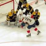 Florida Panthers teki NHL-historiaa nousemalla vierasottelussa Boston Bruinsia vastaan neljän maalin tappioasemasta, päätöserään lähdettäessä, ottelun voittoon.