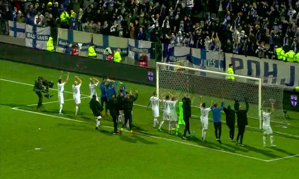 Suomen voitolle 50 kerroin Liechtensteinia vastaan.