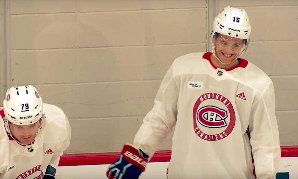 Montreal Canadiensin Jesperi Kotkaniemi veti huumoriksi haastattelussa, kun häneltä udeltiin hänen terveystilanteestaan.