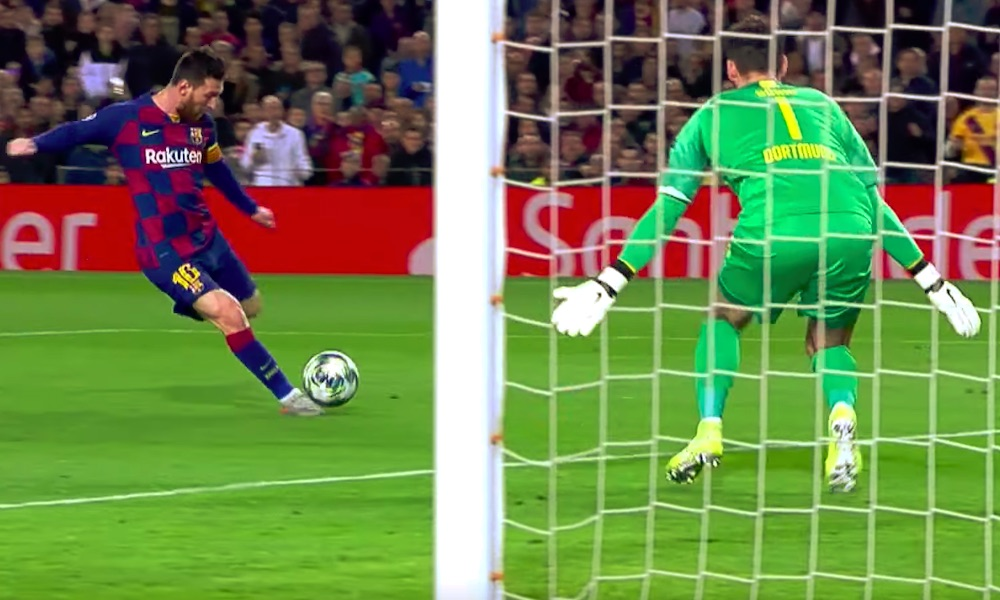 Lionel Messi teki ennätyksen eilisessä Mestarien liigan ottelussa Borussia Dortmundia vastaan: hänestä tuli Mestarien liigan historiassa eniten eri seurojen verkkoon maaleja iskenyt pelaaja.