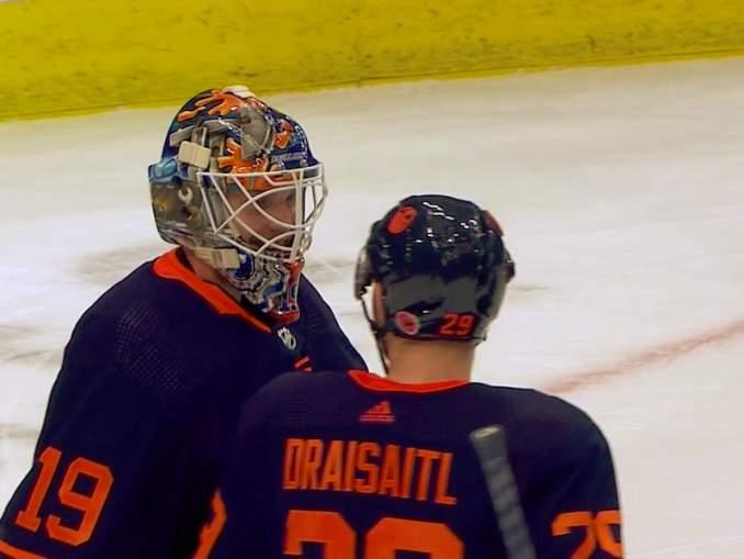 Edmonton Oilersin Mikko Koskinen nollasi New Jerseyn ja kipusi askeleen lähemmäksi NHL:n kärkeä torjuntatilastoissa.