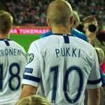 Huuhkajille karvas tappio: Suomen jalkapallomaajoukkue pelasi viimeisen karsintaottelunsa Kreikkaa vastaan Ateenassa ja joutui taipumaan lukemin 2-1.