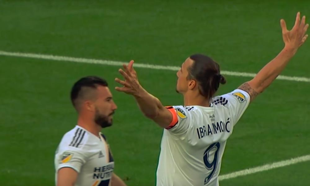 """Zlatan jätti LA Galaxylle jäähyväiset hyvin zlatanmaiseen tyyliin, kun hän ilmoitti """"matkansa jatkuvan""""."""
