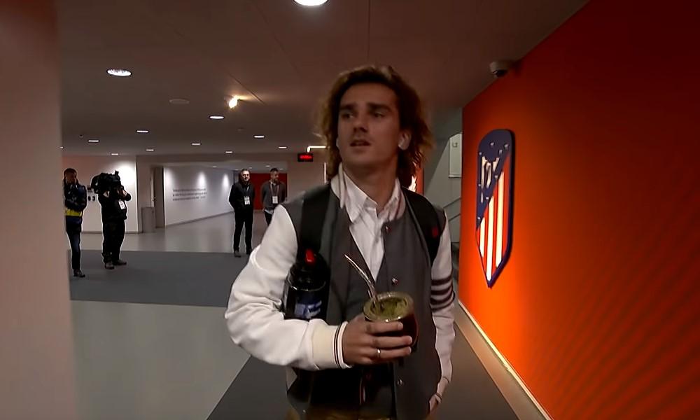 Antoine Griezmannin vierailu sai Atlético-fanit hulluiksi.