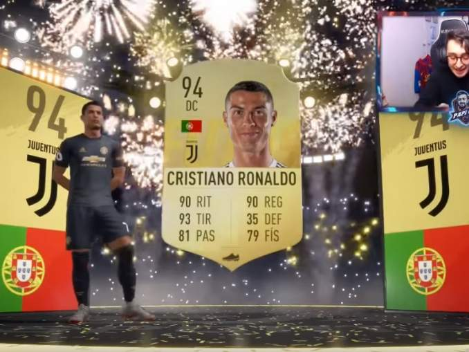 Urheiluvedot.com:n vuoden 2019 luetuimmat jutut: YouTube-striimaajalle kävi käsittämätön virhe FIFA 19 Ultimate Team -pakkausta avatessaan.