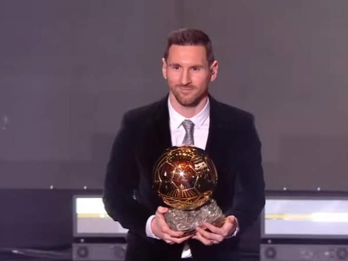 Messi nosti myös Barcelonan korkeimmalle korokkeelle Ballon d'Oreissa