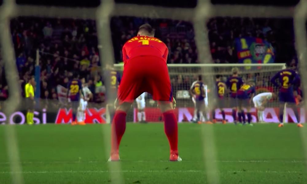 FC Barcelonan saksalaisvahti Marc-André ter Stegen kovempi syöttökone kuin Eden Hazard, Cristiano Ronaldo ja Mesut Özil? Ainakin kuluvan kauden osalta.