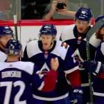 Mikko Rantanen palasi kaukaloon nilkkavammasta toivuttuaan ja takoi välittömästi neljä tehopistettä. Myös Joonas Donskoi vietti neljän pisteen iltaa, NHL-uransa ensimmäistä sellaista.