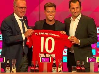 Philippe Coutinho pelaa Bayern Münchenin kotiottelut lasten kokoa olevalla paidalla, koska Adidas ei ole onnistunut valmistamaan hänelle sopivaa aikuisten koon paitaa.