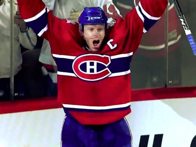 Saku Koivu Montrealissa: Canadiens juhlisti 110-vuotista historiaansa entisten kapteeneidensa johdolla.