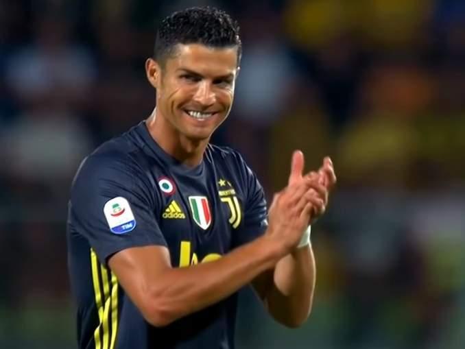 Juventuksen Cristiano Ronaldo postasi itsestään uskomattoman treenikuvan: siitä voi jokainen hakea mallia rantakuntoon 2020.