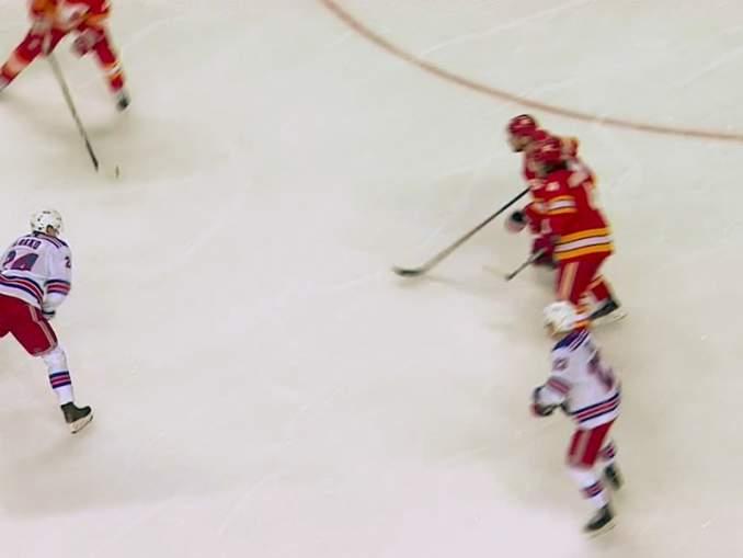 Kaapo Kakon pitkä maaliton putki päättyi, kun hän antoi ranteiden laulaa vierasottelussa Calgary Flamesia vastaan.