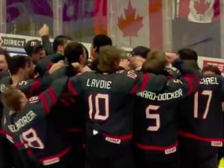 TSN:n kamera pelasti Kanadan Nuorten MM-kisoissa, kun joukkue kaatoi finaalissa Venäjän lukemin 4-3.