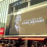 Kobe Bryantia surraan ympäri urheilumaailman ja luonnollisesti erityisesti Los Angelesissa, Lakers-fanien keskuudessa.