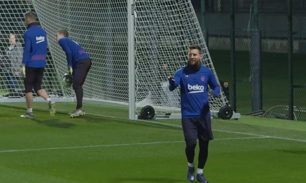 Lionel Messiä ei saa puolustaa kovin ottein Barcelonan harjoituksissa?!