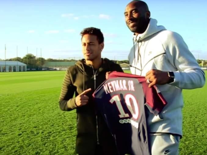 Neymar kunnioitti Kobe Bryantia upealla tavalla, iskettyään maalin PSG:n ottelussa Lilleä vastaan.