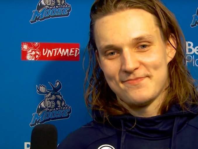 Sami Niku myöntää pohtineensa sekä siirtopyynnön jättämistä Winnipeg Jetsin seurajohdolle että siirtoa KHL:ään jumiuduttuaan AHL:ään.