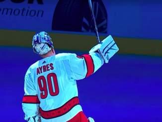 Carolinan zamboni-vahti David Ayres paljasti Erik Haulan olleen niin sanotusti hänen salainen aseensa uskomattomassa voitossa Toronto Maple Leafsista.