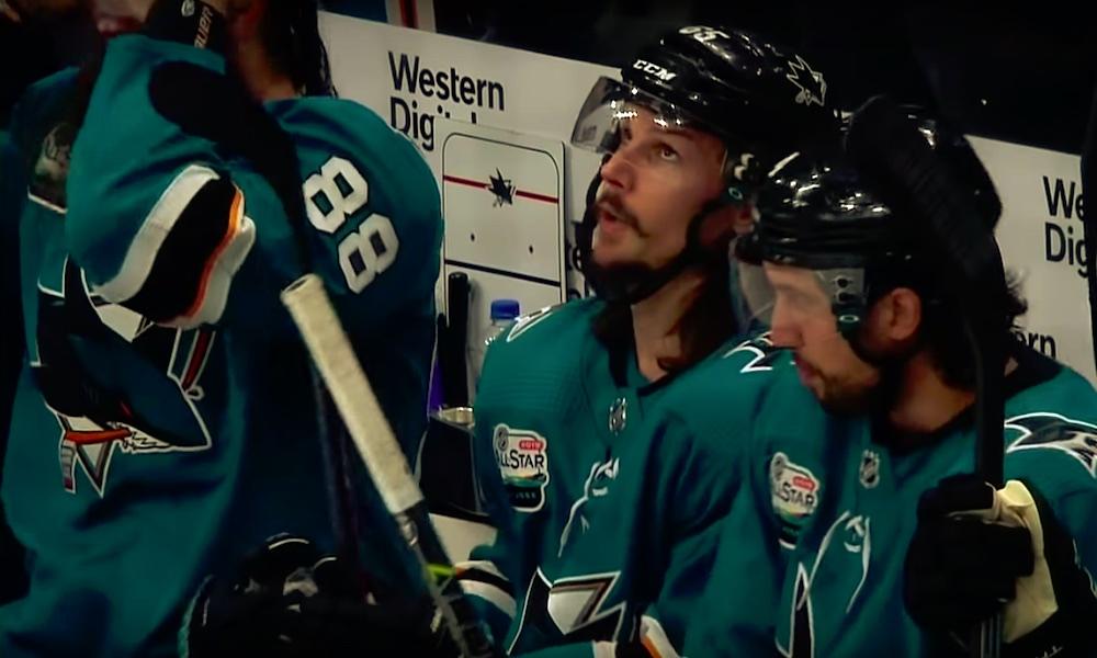 San Jose Sharksin parhaana pistemiehenä tällä kaudella kunnostautuneen Erik Karlssonin kausi päättyi ennen aikojaan.
