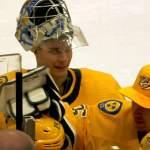 Nashville Predatorsin Juuse Saros nollasi NY Islandersin ja jatkoi näin ollen vahvaa menoaan kalenterivuoden 2020 osalta.