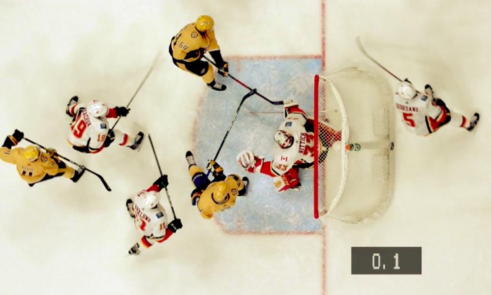 Mikael Granlund tasoitti ottelun Calgary Flamesia vastaan kirjaimellisesti viimeisellä mahdollisella hetkellä ja iski myös ottelun voittomaalin jatkoajalla.