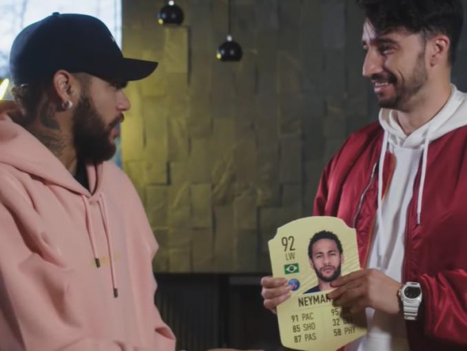 VIDEO: Neymar reagoi FIFA-korttiin - yhdessä tilastossa PSG:n huonoin?