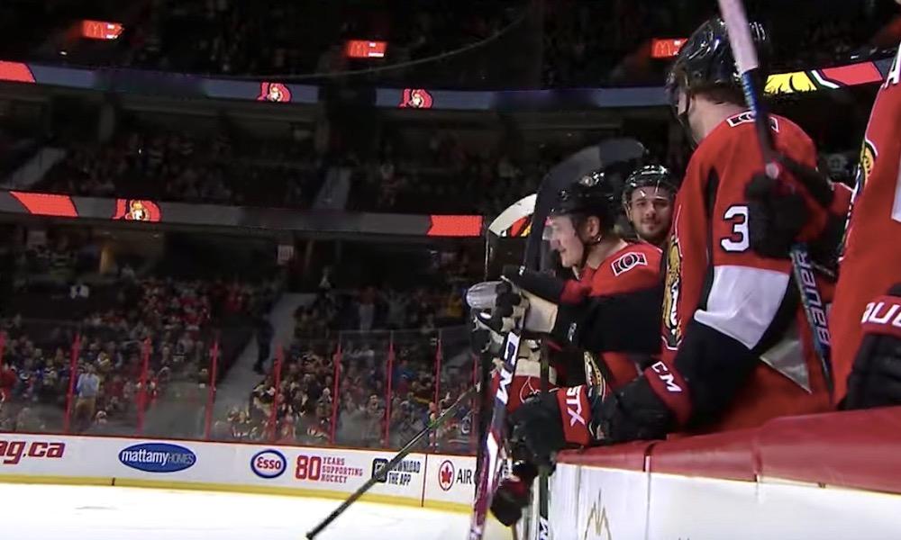 NHL:ssä ensimmäinen koronavirustartunta: Ottawa Senators vahvisti asian, mutta ei paljastanut sairastuneen pelaajan henkilöllisyyttä.