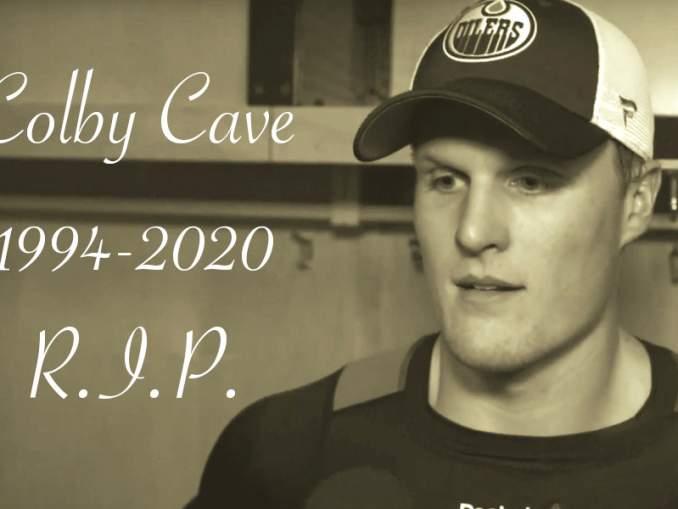 Colby Cave on poissa: Edmonton Oilersin pelaaja menehtyi vain 25-vuotiaana, aivoverenvuodon seurauksena.