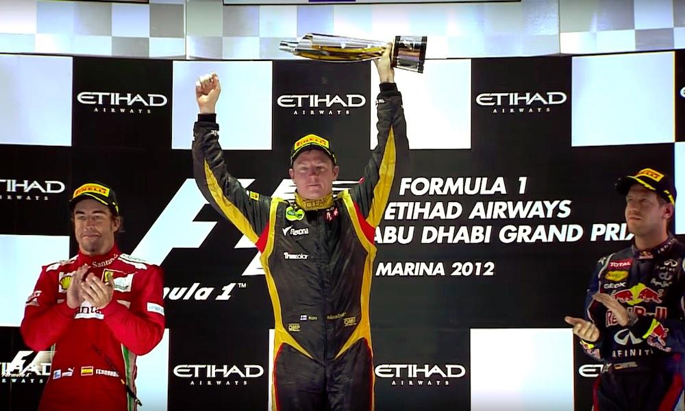 Lotus-pomo fiilisteli Kimin heittoa ja voittoa vuodelta 2012 ja kertoi edelleen menevänsä kananlihalle.