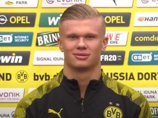 Erling Hålandilta nerokas kuitti PSG-pelaajien pilkkaan.