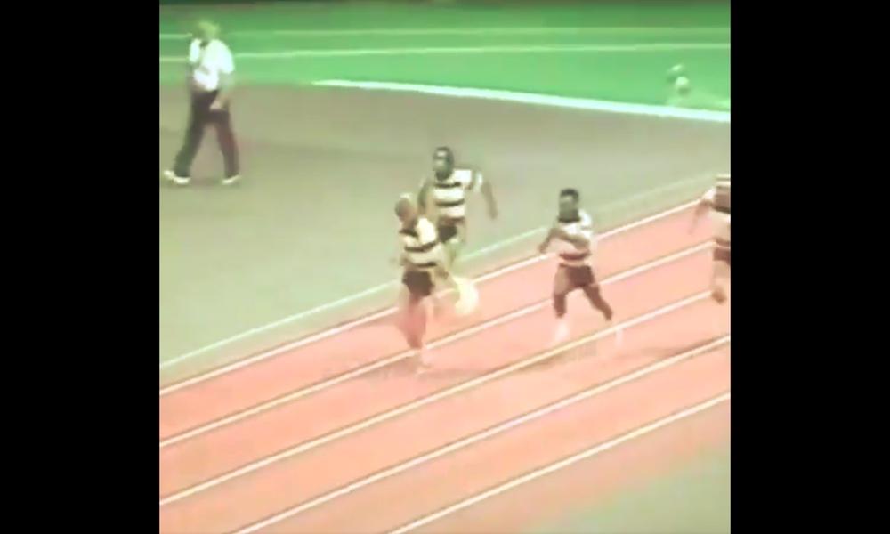 Muistatko, miten Wayne Gretzky rökitti sekä Pelén, Björn Borgin että Sugar Ray Leonardin vuonna 1982 juostussa 100 metrin juoksussa?