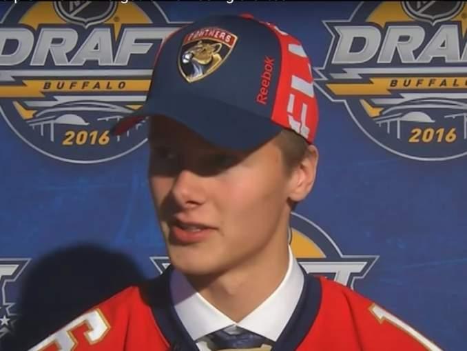 Henrik Borgströmin Jokerit-siirto ei pidä paikkaansa, jos uskomista on Florida Panthersin General manageriin Dale Talloniin.
